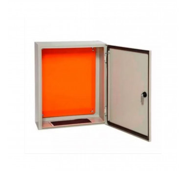 Caixa Metálica Para Quadro/Painel De Comando Com Flange 60X50X25