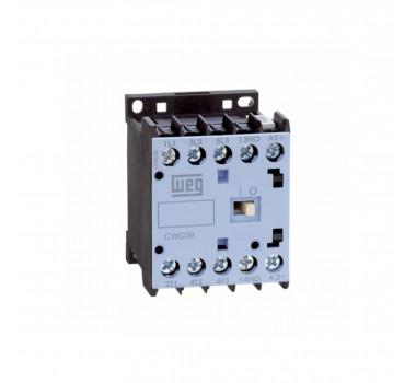 Mini Contator Tripolar CWC09 Weg 220V