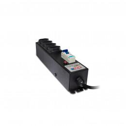 Protetor Eletrico Profissional com Disjuntor 4 Tomadas 20a